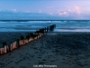 Sunset and Sea-groynes