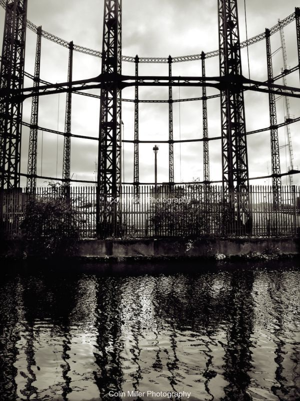 Gas Holder and Canal